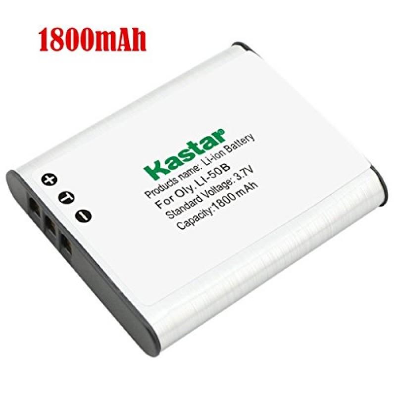 Kastar Battery 1 Pack For Olympus Li 50b Li 50c Pentax