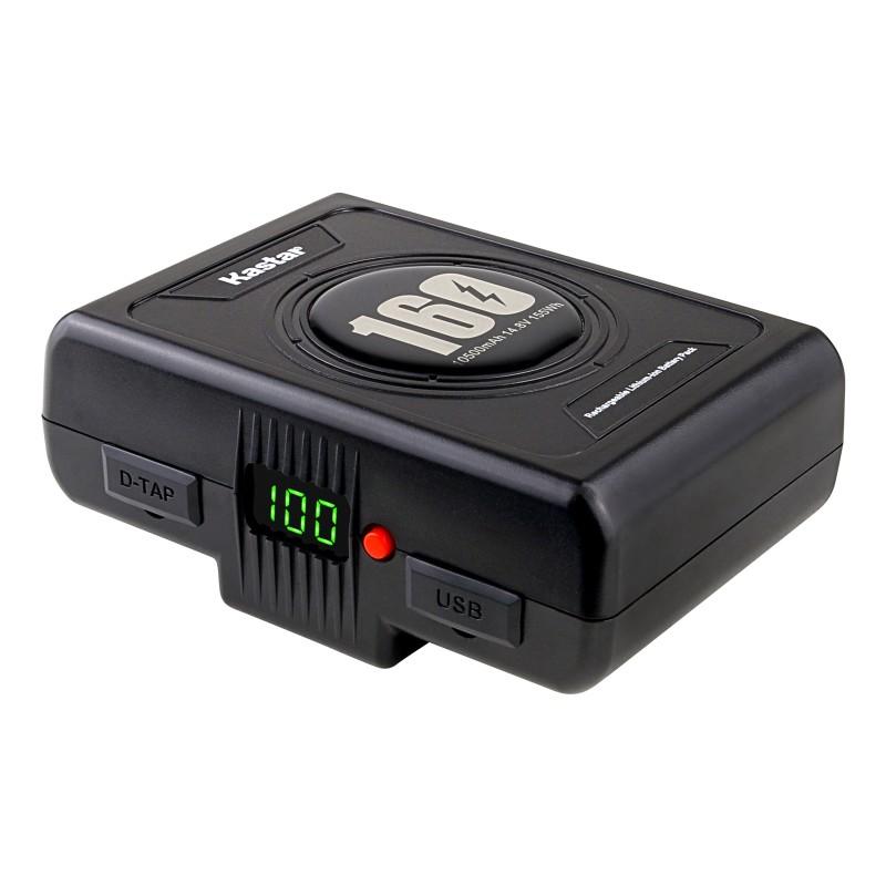 Kastar BP-C160 Broadcast Battery Replacement for Anton Bauer Gold Mount Titon 90 Titon 150 SL150 SL240, Dionic XT90 XT150, Digital V190 G190 Cine 90, HyTRON 140, ARRI Alexa Mini, Aja Cion, AJ-PX5100, URSA