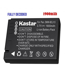 Kastar Battery (1-Pack) for Panasonic DMW-BCJ13, DMW-BCJ13E, DMW-BCJ13PP, Leica BP-DC10, BP-DC10-E, BP-DC10-U & Panasonic Lumix DMC-LX5 DMC-LX55 DMC-LX5K DMC-LX5W DMC-LX7 and Leica D-Lux 5, D-Lux 6