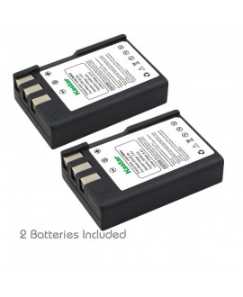 Kastar 2 Packs Nikon EN-EL9 Brand New 1800mAh COMPATIBLE Battery for Nikon D40, D40x, D60