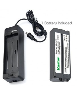 Kastar Battery NB-CP2L (X1) and Charger BG-CP200 for Canon NB-CP1L CP2L and Compact Photo Printer SELPHY CP100 CP200 CP220 CP300 CP330 CP400 CP510 CP600 CP710 CP730 CP770 CP780 CP790 CP800 CP900 CP910