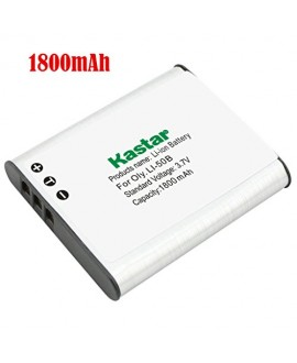 Kastar Battery (1-Pack) for Panasonic VW-VBX090, Olympus Li-50B work with Panasonic HX-WA03, HX-WA2, HX-WA20, HX-WA3, HX-WA301 Digital Cameras