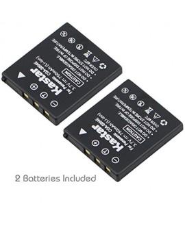 Kastar Battery (2-Pack) for Samsung SLB-0737, SLB-0837, Panasonic CGA-S004, CGA-S004A, CGA-S004E, CGR-S001B, DMW-BCB7, Fujifilm NP-40, NP-40N, Kodak KLIC-7005, Sanyo NP-40, UF55346, Pentax D-Li8, Benq Dli-102, Konica Minolta NP-1and DE-992, BC-40, SBC-L5