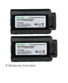 Kastar Battery 2 Pack, Li-ion 7.4V 2000mAh, Replacement for Paslode 902600 902654 B20543A Paslode 902400, Paslode B20543, Paslode CF325Li, Paslode IM250A Li, Paslode Li-Ion Cordless Nailer Tools