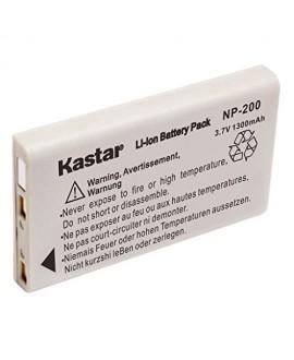 Kastar NP-200 Battery (2-Pack) for Konica Minolta Dimage X Dimage Xg Dimage X6 Dimage Xi Dimage Xt Dimage Xt Biz Cameras