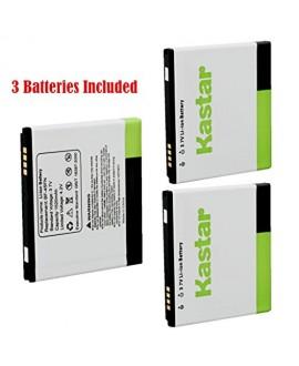 Kastar FL-53HN Battery (3-Pack) for LG Thrill 4G P925 / LG Optimus 3D P920 / LG G2x P999 P990 / LG Optimus 2x P990 / LG DoublePlay C729, Fit FL-53HN / FL53HN --Supper Fast and Free Shipping from USA