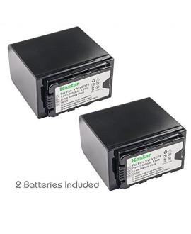 Kastar VBD78 Battery 2 Pack for Panasonic VW-VBD29 VW-VBD58 VW-VBD78 & Panasonic AG-3DA1 AG-AC8 AG-DVC30 AG-HPX171 AG-HPX250 AG-HPX255 AG-HVX201 AJ-PCS060 AJ-PX270 AJ-PX298 HC-MDH2 HC-X1000 HDC-Z10000