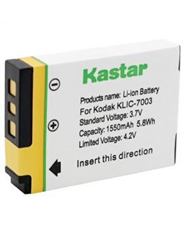 Kastar Battery (1-Pack) for Kodak KLIC-7003 K7003, GE GB-40 & Kodak EasyShare M380 M381 EasyShare M420 EasyShare V803 EasyShare V1003 EasyShare Z950, GE E1030 E1040 E1050TW E1240 E1250TW E850 H855