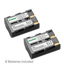 Kastar Battery (2X) for Pentax D-Li50 Konica Minolta NP-400 Samsung SLB-1647 Sigma BP-21 and Pentax K10 K10D K20 K20D Minolta A-5 A-7 Dimage A1 A2 Dynax 5D 7D Maxxum 5D 7D Samsung GX-10/20 Sigma SD1