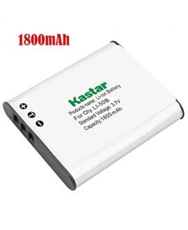 Kastar D-LI92 Battery (1-Pack) for Ricoh Pentax D-LI92, D-BC92, K-BC92, Olympus LI-50B and Pentax Optio I-10, RZ10, RZ18, WG-1, WG-1 GPS, WG-2, WG-2 GPS, WG-3, WG-3 GPS, WG-4, WG-4 GPS, WG-10, X70