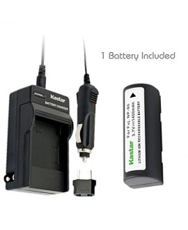 Kastar Battery (1-Pack) and Charger Kit for Fujifilm NP-80, KLIC-3000 work with Fujifilm Finepix 1700z, 2700, 2900z, 4800 Zoom, 4900 Zoom, 6800 Zoom, 6900 Zoom, MX-1700, MX-1700z, MX-2700, MX-2900, MX-2900z, MX-4800, MX-4900, MX-6800, MX-6900, Kodak DC480