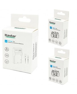 Kastar Battery (X2) & Slim USB Charger for Canon LP-E8, LC-E8E and Canon EOS 550D, EOS 600D, EOS 700D, EOS Rebel T2i, EOS Rebel T3i, EOS Rebel T4i, EOS Rebel T5i Cameras, Grip BG-E8