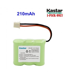 Kastar Battery (1-PACK) for Dogtra Receiver 175NCP, 200NCP, 202NCP 280NCP 282NCP, 300M, 302M, 7000M, 7002M Dogtra BP-20R BP20R fits NCP180 NCP200 NCP202 NCP210 Remote Controlled Dog Training Collar