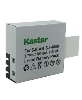 Kastar Battery for SJ4000 SJ5000 SJ6000 SJ7000 SJ8000 and SJCAM GeekPro ABLEGRID Waterproof Sports HD Action Camera Camcorder