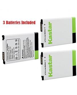 Kastar BL-44JH Battery (3-Pack) for LG Optimus L7, P700, P750, LG Mach LS860, LG Motion 4G MS770, Splendor/Venice Fit BL-44JH, BL44JH, EAC61839001, EAC61839006