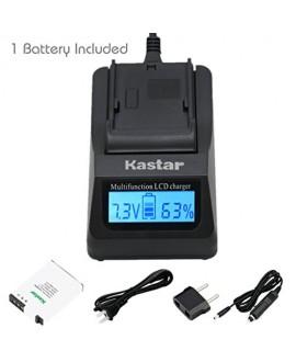 Kastar Fast Charger + 1X Battery for Nikon EN-EL12 MH-65 & Coolpix AW100, AW100s, AW110, AW110s, S9900, S9700, S9500, S9300, S9200, S9100, S6300, S8100, P330, P310, P300, S1200pj, S1000pj, S620, S31