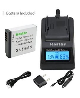 Kastar Ultra Fast Charger(3X faster) Kit and Battery (1-Pack) for Panasonic DMW-BLH7 DMW-BLH7E DMW-BLH7PP work with Panasonic Lumix DMC-GM1 DMC-GM1K DMC-GM5 DMC-GF7 Cameras