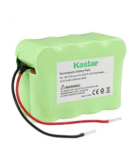 Kastar SV70 Battery (1 Pack), Ni-MH 14.4V 2500mAh, Replacement for Euro-Pro D-SC-P, SV70 Pet Perfect, SV70Z, XB14726 Shark Pet Perfect Bagless