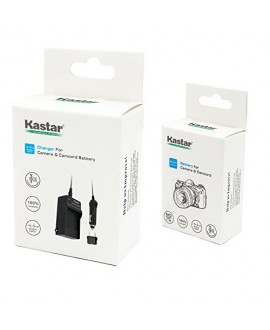 Kastar 1x Battery + Charger for Sony NP-FS11 NP-F10 NP-FS10 NP-FS12 FS31 DCD-CR1 CCD-CR5 DCR-PC1 DCR-PC2 DCR-PC3 DCR-PC4 DCR-PC5 DCR-TRV1VE Cyber-shot DSC-F505 DSC-F55 DSC-F55 DSC-P1 DSC-P20 P30 P50