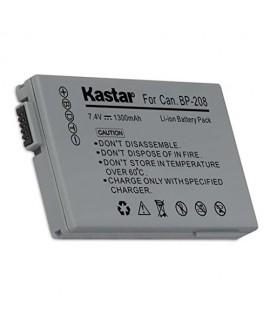 Kastar BP-208 Battery (1-Pack) for Canon DC10 DC19 DC20 DC21 DC22 DC40 DC50 DC51 DC95 DC100 DC200/201/210/211 DC220/230 Elura 100 FVM300 IXY DVS1 MVX1Si/430/450/460 Optura S1 VIXIA HR10