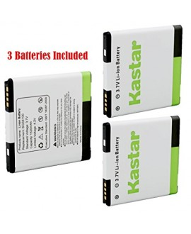 Kastar G14 / BG58100 Battery (3-Pack) for HTC G14, HTC BG58100, HTC EVO 3D (Fits BG86100), HTC Sensation, HTC Amaze, HTC MyTouch 4G Slide, HTC Sensation XE, HTC Sensation XL, HTC Shooter, HTC Z710E, HTC Z715E --Supper Fast and Free Shipping from USA
