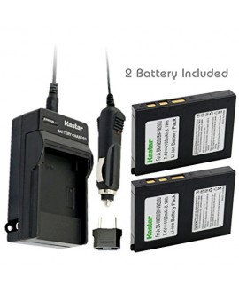 Kastar Battery (2-Pack) and Charger Kit for BN-VM200 BN-VM200U work with JVC GZ-MC100 GZ-MC200 GZ-MC500 GZ-MC100EK GZ-MC200E GZ-MC500EK GZ-MC100EX GZ-MC200EX GZ-MC500EX GZ-MC100US GZ-MC200US GZ-MC500US Cameras
