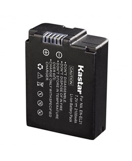 Kastar Battery (1-Pack) for Nikon EN-EL21, MH-28 and Nikon 1 V2 1V2 Camera