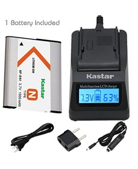 Kastar Ultra Fast Charger(3X faster) Kit and Battery (1-Pack) for NP-BN1, BC-CSN work with Sony Cyber-shot DSC-QX10,DSC-QX100,DSC-T99,DSC-T110,DSC-TF1,DSC-TX5,TX7,TX9,DSC-TX10,DSC-TX20,DSC-TX30,DSC-TX55,DSC-TX66,DSC-TX100V,DSC-TX200V,DSC-W310,W320,W330,W3