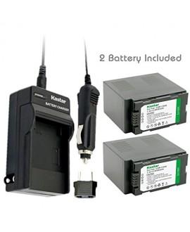 Kastar Battery (2-Pack) and Charger Kit for Panasonic CGR-D54S CGA-D54S VSK0581 & AG-3DA1 AG-DVC30 AG-DVC32 AG-DVC33 AG-DVC60NV-DS29 NV-DS30 NV-DS50 NV-GX7 NV-MX5 NV-MX350 NV-MX500 NV-MX1000 AG-HRX200