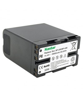 Kastar BP-U66 Battery (1X) for Sony BP-U60 BP-U90 BP-U30 and PXW-FS7/FS5/X180 PMW-100/150/150P/160 PMW-200/300 PMW-EX1/EX1R PMW-EX3/EX3R PMW-EX160 PMW-EX260 PMW-EX280 PMW-F3 PMW-F3K PMW-F3L Camcorders