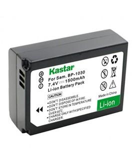 Kastar Battery (1-Pack) for Samsung BP1030, BP1030B, BP1130, ED-BP1030 work for Samsung NX200, NX210, NX300, NX300M, NX1000, NX1100, NX2000 Cameras