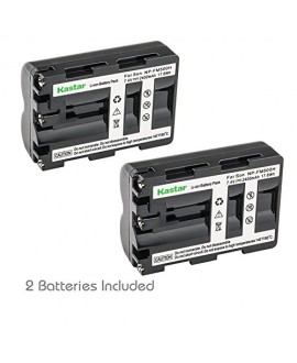 Kastar Battery for Sony NP-FM500H and Sony Alpha SLT A58 A57 A65 A77 A99 A77V A77II DSLR-A100 A200 A300 A350 A450 A500 A550 A700 A850 A900 Alpha a99 II CLM-V55 DSLR a100 a560 a580 a58 a77II a99 Camera