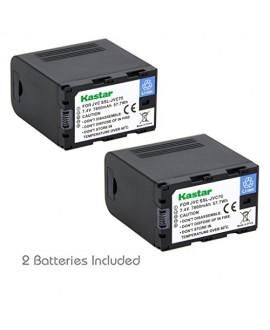 Kastar Battery (2-Pack) for JVC SSL-JVC70 and JVC GY-HMQ10, GY-LS300, GY-HM200, GY-HM600, GY-HM600E, GY-HM600EC, GY-HM650 Camcorders