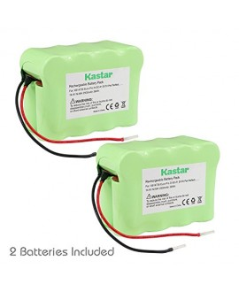Kastar SV70 Battery (2 Pack), Ni-MH 14.4V 2500mAh, Replacement for Euro-Pro D-SC-P, SV70 Pet Perfect, SV70Z, XB14726 Shark Pet Perfect Bagless