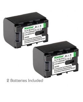 Kastar BNVG121 Battery 2X for JVC BN-VG138 BN-VG121 BN-VG121U BN-VG121US BN-VG114 BN-VG114U BN-VG114US BN-VG107 BN-VG107U BN-VG107US JVC GZ-E10 GZ-E100 GZ-E15 GZ-E200 GZ-E205 GZ-E208 GZ-E220 GZ-E225