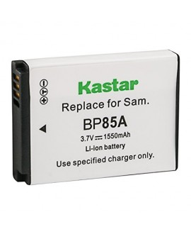 Kastar Battery for Samsung EA-BP85A EA-BP85A/E Samsung BP85A Samsung EC-SH100ZBPBUS EC-SH100ZBPRUS EC-SH100ZBPSUS EC-WB210ZBPRUS Samsung PL210 Samsung SH100 Samsung ST200 Samsung ST200F Samsung WB210