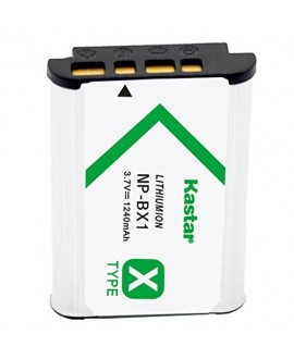 Kastar Battery (1-Pack) for Sony NP-BX1, M8 and Cyber-shot DSC-HX50V, HX300, RX1, RX1R, RX100, RX100 II, RX100M II, RX100 III, RX100M3, WX300, HDR-AS10, AS15, AS30V, AS100V, AS100VR, CX240, MV1, PJ275
