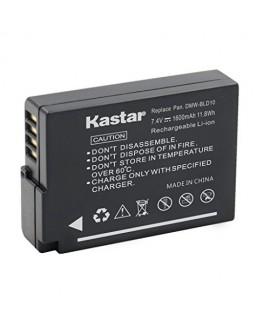 [Fully Decoded] Kastar DMW-BLD10 Battery (1-Pack) for Panasonic DMW-BLD10, DMW-BLD10E, DMW-BLD10PP, DE-A93B work for Panasonic Lumix DMC-G3, Panasonic Lumix DMC-GF2, Panasonic Lumix DMC-GX1 Cameras