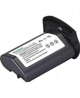 [Full Coded] Kastar LP-E4 Battery (1-Pack) 11.1V 4400mAh 48.4Wh for Canon LP-E4 LPE4 Li-ion Battery work with Canon EOS-1D C, EOS-1D Mark III, EOS-1Ds Mark III, EOS-1D Mark IV Cameras