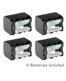 [Fully Decoded] Kastar BN-VG121 Battery (4-Pack) for JVC BN-VG107/VG107U/VG107US, BN-VG114/VG114U/VG114US, BN-VG121/VG121U/VG121US and JVC Everio GZ-E10,GZ-E100,GZ-E200,GZ-E300,GZ-E505,GZ-E565,GZ-EX210,GZ-EX215,GZ-EX245,GZ-EX250,GZ-EX265,GZ-EX275,GZ-EX310