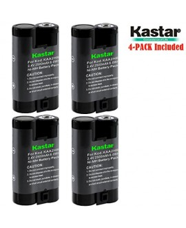 Kastar KAA2HR Battery (4-Pack) for Kodak KAA2HR KAARDC K3ARDC and Kodak EasyShare, Kodak C315 CD33 CW330 CX7430 DX3900 Z650 Digital Camera