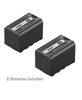 Kastar VBD58 Battery 2 Pack for Panasonic VW-VBD29 VW-VBD58 VW-VBD78 & Panasonic AG-3DA1 AG-AC8 AG-DVC30 AG-HPX171 AG-HPX250 AG-HPX255 AG-HVX201 AJ-PCS060 AJ-PX270 AJ-PX298 HC-MDH2 HC-X1000 HDC-Z10000