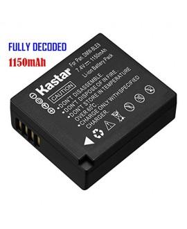 Kastar Battery (1-Pack) for Panasonic DMW-BLE9, DMW-BLE9E, DMW-BLE9PP, DMW-BLG10 work with Panasonic Lumix DMC-GF3, DMC-GF5, DMC-GF6, DMC-GX7, DMC-LX100 Cameras