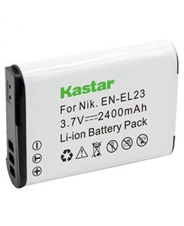 Kastar Battery (1-Pack) for Nikon EN-EL23, MH-67 work with Nikon Coolpix P600, S810c Digital Cameras