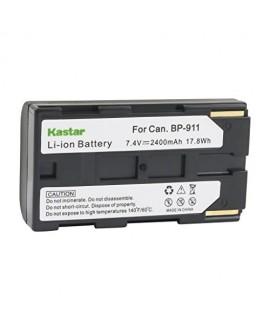 Kastar BP911 Battery (1-Pack) for Canon BP-911, BP-911K, BP-914, BP-915 and Canon ES6500V, ES7000es, ES7000V, ES8000V, ES8100V, ES8200V, ES8400V, ES8600 Camera