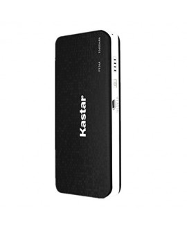 Kastar Portable External Power Bank for iPhone 6, 6 plus, 5S, 5C, 5, 4S, 4, iPad Air, 4, 3, 2, 1, Mini 1,2, Samsung Galaxy S5, S4, S3, S2, Note5, Note4, Note3, Note 2 and most USB Devices (BLACK)