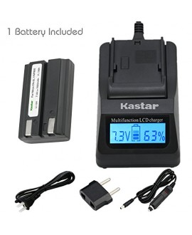 Kastar Fast Charger Kit and EN-EL1 Battery (1-Pack) for ENEL1, NP-800 and Nikon Cooipix 4300 4500 4800 5400 5700 775 8700 880 885 995 CoolpixE880 and Konica Minota DG-5W Dimage A200 Cameras