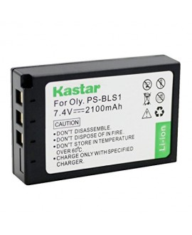 Kastar Battery (1-Pack) for Olympus BLS-1, PS-BLS1 work for Olympus E-400 E-410 E-420 E-450 E-600 E-620 E-P1 E-P2 E-P3 E-PL1 E-PL3 E-PM1 Cameras