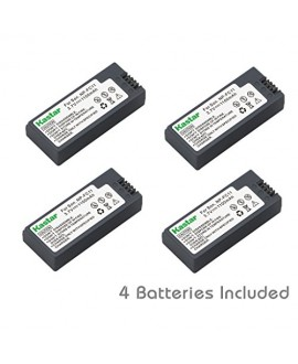 Kastar Battery (4-Pack) for Sony NP-FC11 NP-FC10 and Cyber-shot DSC-P12 DSC-P10 DSC-P8 DSC-V1 DSC-P7 DSC-P5 DSC-P9 DSC-P3 DSC-F77 DSC-P10S DSC-FX77 DSC-P2 DSC-P10L DSC-P8L DSC-F77A DSC-P8S DSC-P8R