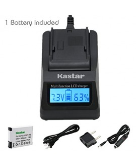 Kastar Ultra Fast Charger(3X faster) Kit and AHDBT-002 Battery (1-Pack) for GoPro AHDBT-001, AHDBT-002 work with GoPro HD HERO1, HERO2, GoPro Original HD HERO Cameras